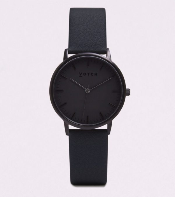 The All Black Face With Black Strap