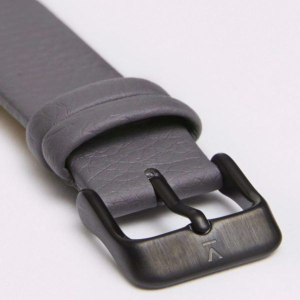 The All Black Face With Slate Grey Strap
