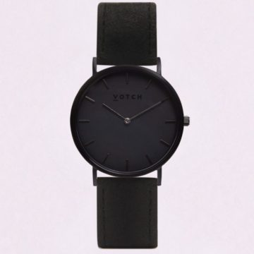The Black & Piñatex Classic Watch