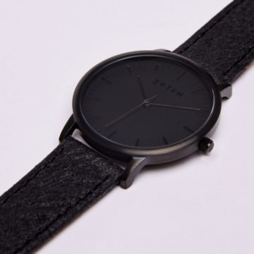 The Black & Piñatex New Watch