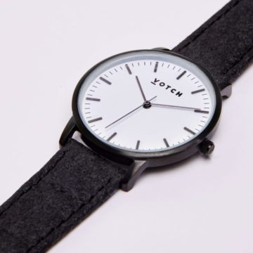 The Black & White With Piñatex New Watch