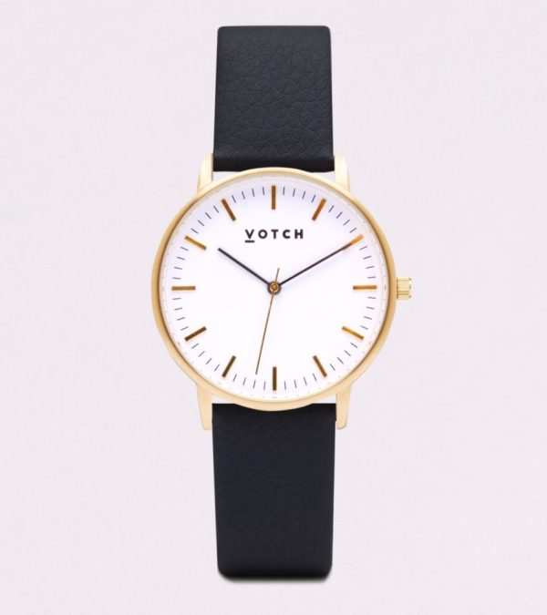 The Gold Face With Black Strap
