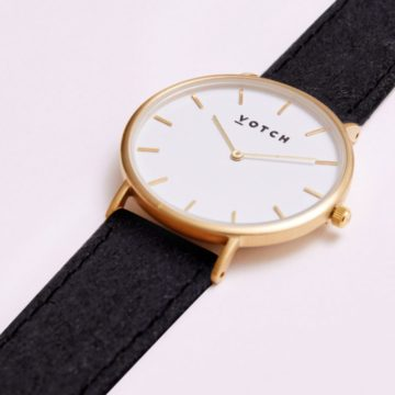 The Gold & Piñatex Classic Watch