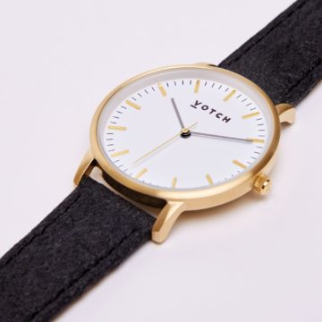 The Gold & Piñatex New Watch