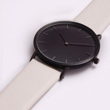 The Light Grey & Black Watch // Limited Edition