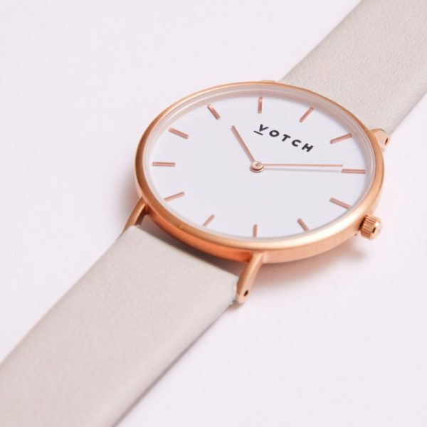The Light Grey & Rose Gold Watch // Limited Edition