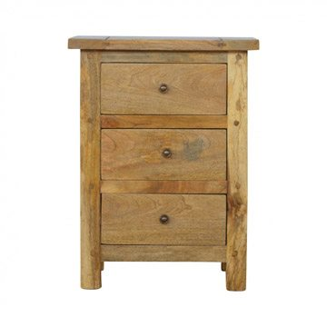 Mango Hill 3 Drawer Bedside