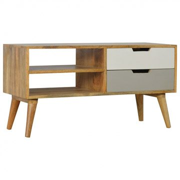 Mango Hill Media Unit with 2 Drawers