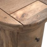 Mango Hill Slim Drum Chest with 5 Drawers
