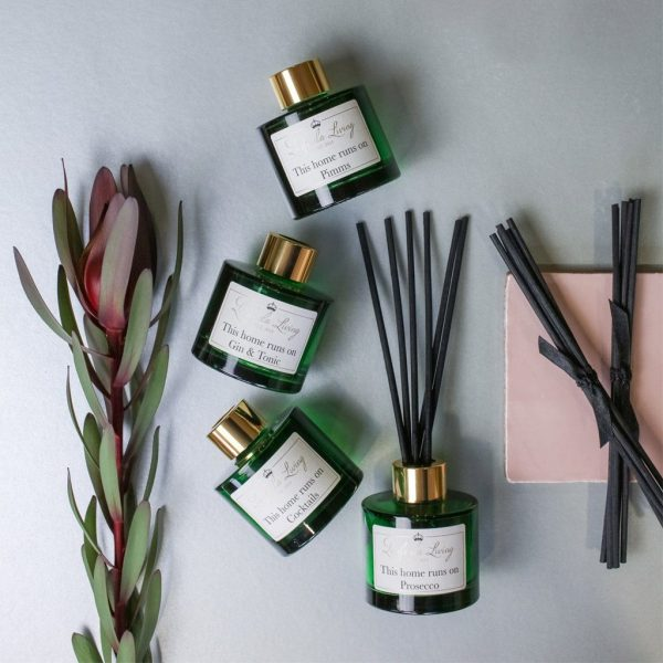 Reed Diffusers - 'This Home Runs On Gin & Tonic'