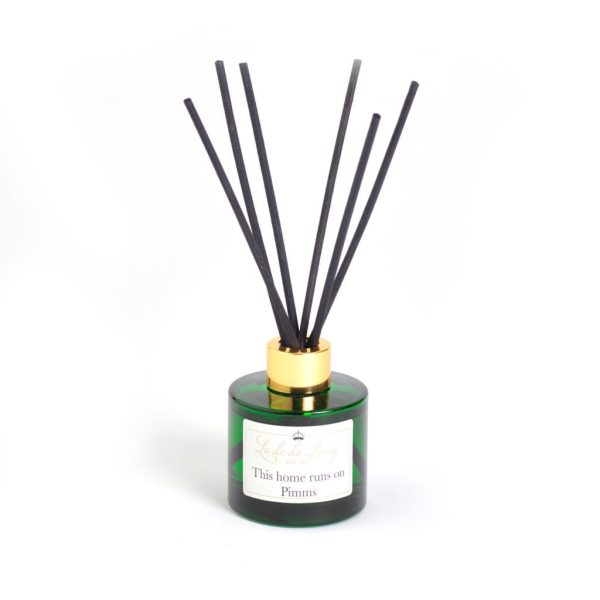 Reed Diffusers - 'This Home Runs On Pimms'