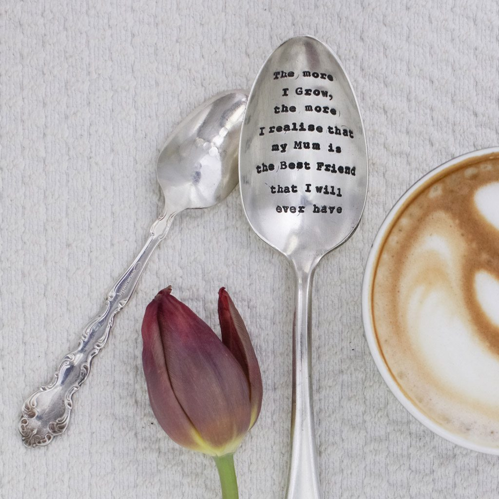 Serving Spoon - 'The More I Grow...'