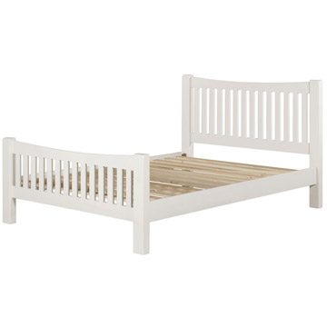 Willow White King Size Bedframe