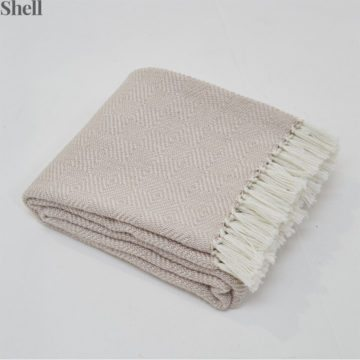 Diamond Shell Blanket
