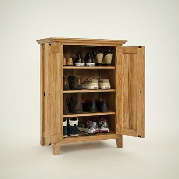 Hereford Rustic Oak 2 Door Cupboard