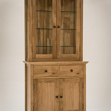 Hereford Rustic Oak Small Dresser