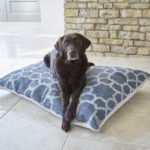 Kasbah Ink Floor Cushion