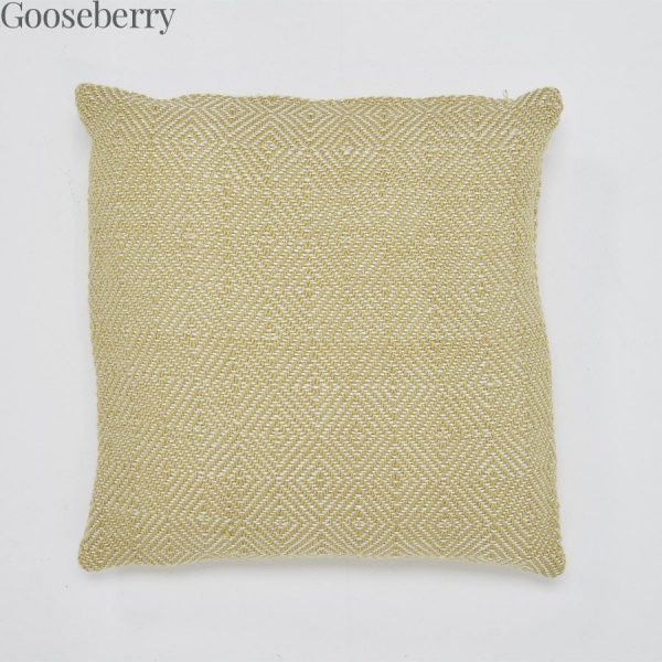 Lightweight Diamond Gooseberry Cushion