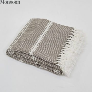Oxford Stripe Monsoon Blanket