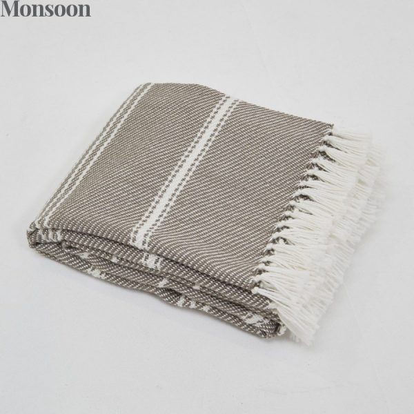 Oxford Stripe Monsoon Blanket