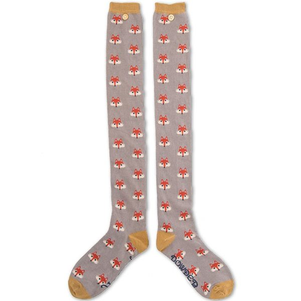 Long Mr Fox Socks