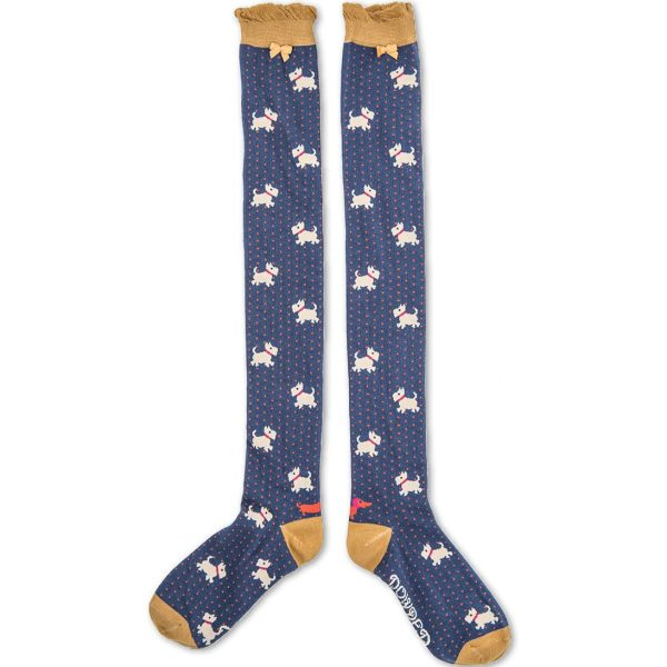 Long Westie Socks