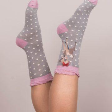 Slate Ankle Bambi Socks
