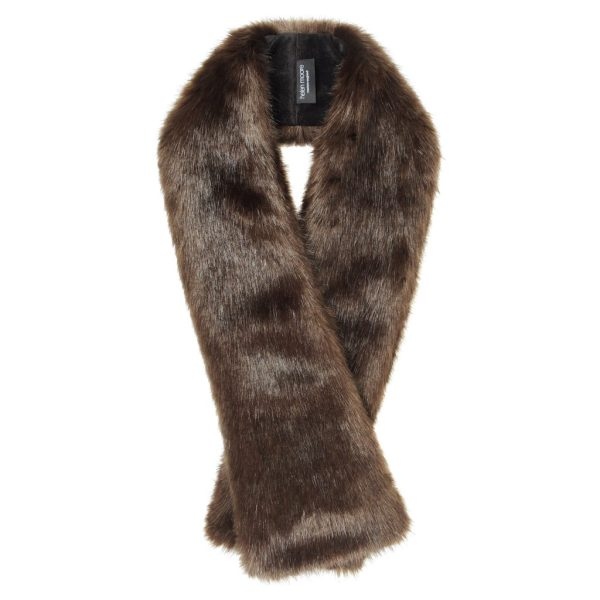 Treacle Faux Fur Long Tippet Scarf
