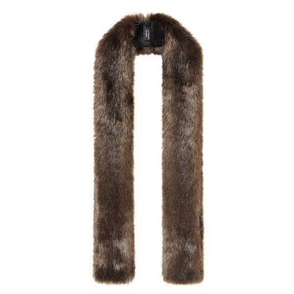 Treacle Faux Fur Skinny Scarf
