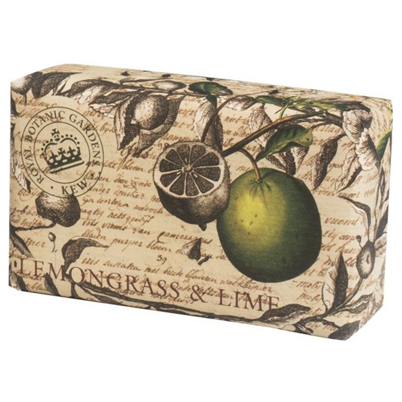 Lemongrass & Lime Vintage Wrapped Soap