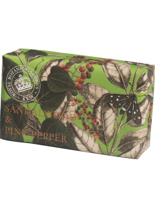 Sandalwood & Pink Pepper Vintage Wrapped Soap
