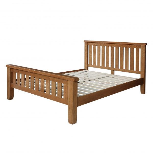 Harvard Oak Slatted Bedstead