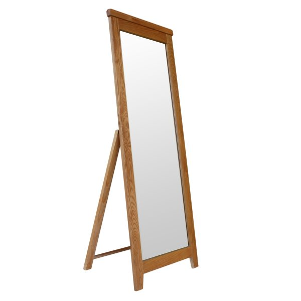Harvard Oak Cheval Mirror