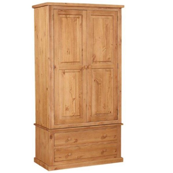 Delamere 2 Door 2 Drawer Wardrobe
