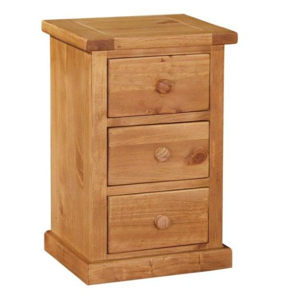 Delamere 3 Drawer Bedside