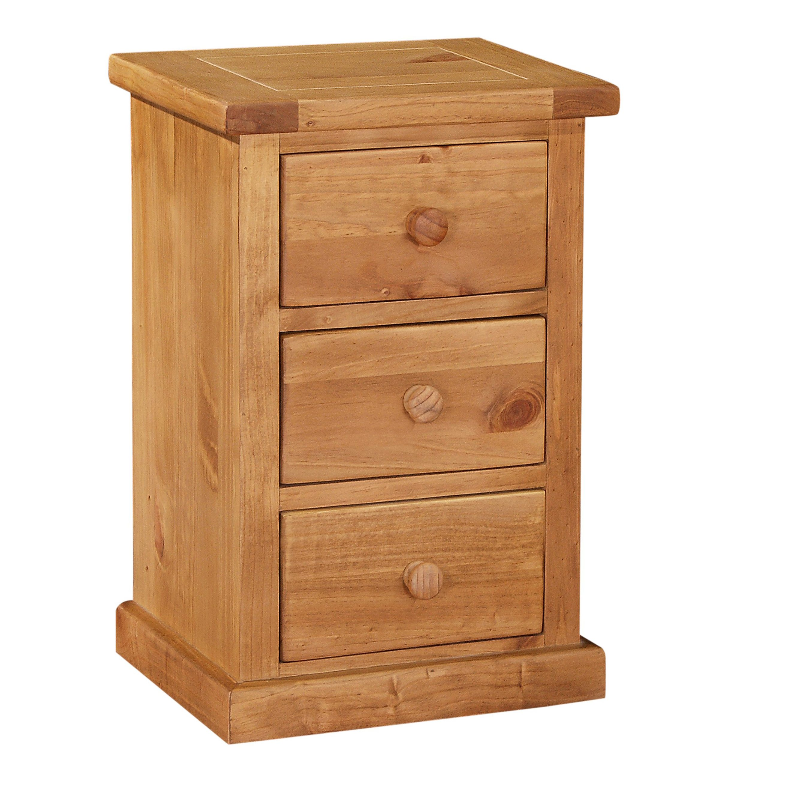 Delamere Kids 3 Drawer Bedside