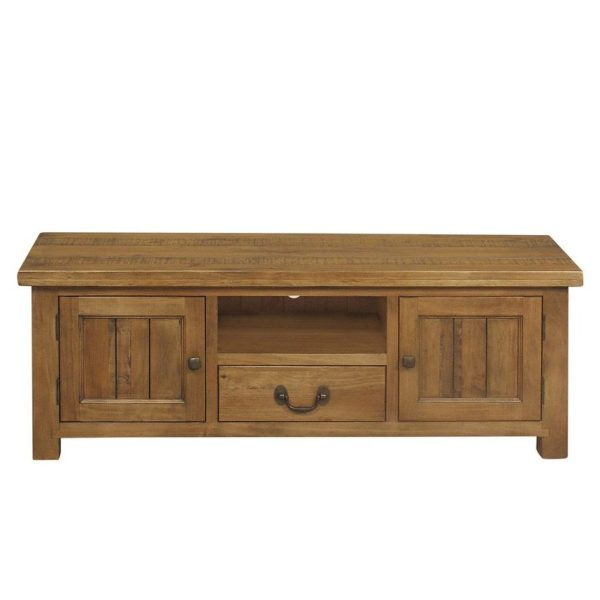 Gresford Rustic 2 Door 1 Drawer TV Unit