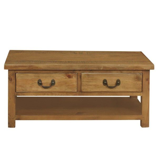 Gresford Rustic 2 Drawer Coffee Table