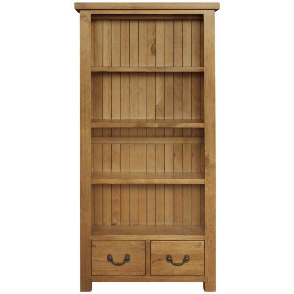 Gresford Rustic Bookcase 900 x 1800
