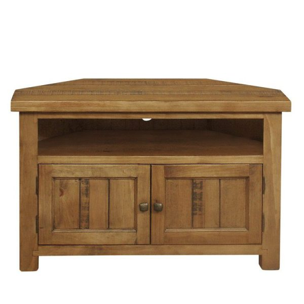 Gresford Rustic Corner TV Unit
