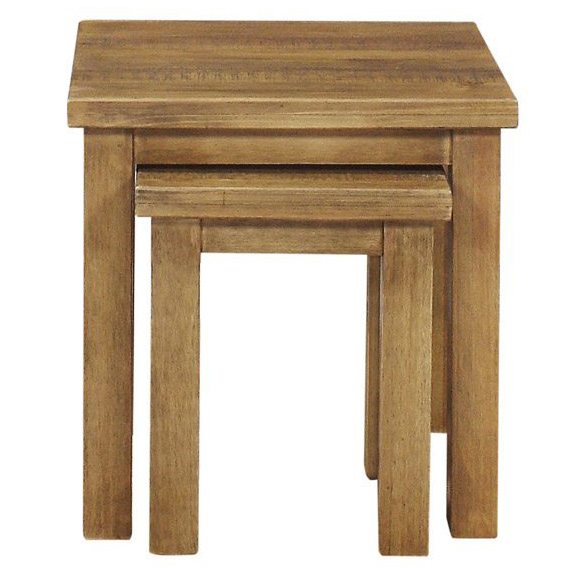 Gresford Rustic Nest Of 2 Tables