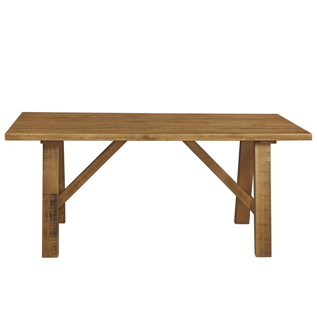 Gresford Rustic Trestle Table 1800 x 900