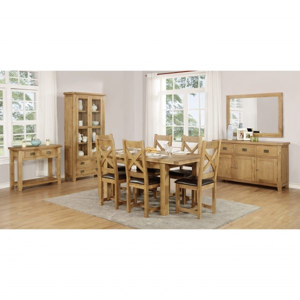 Harvard Oak Single Desk