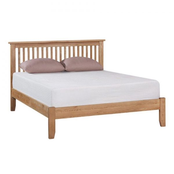 Mini Oxford Oak Bedstead