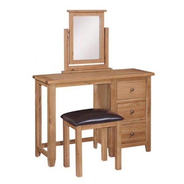 Mini Oxford Oak Dressing Mirror