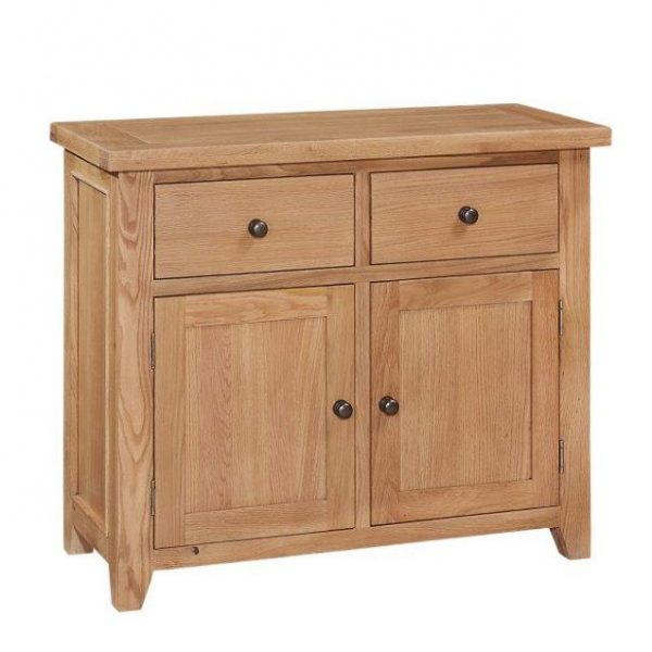 Oxford Oak 2 Doors 2 Drawers Sideboard