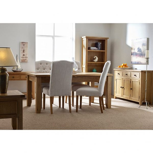 Oxford Oak 3 Doors 3 Drawers Sideboard