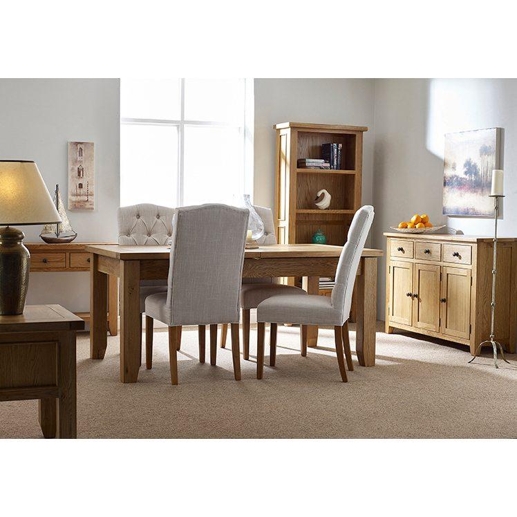 Oxford Oak 3 Doors 3 Drawers Sideboard