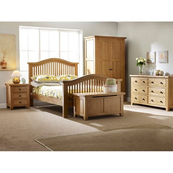 Oxford Oak 6 Drawer Wide Chest