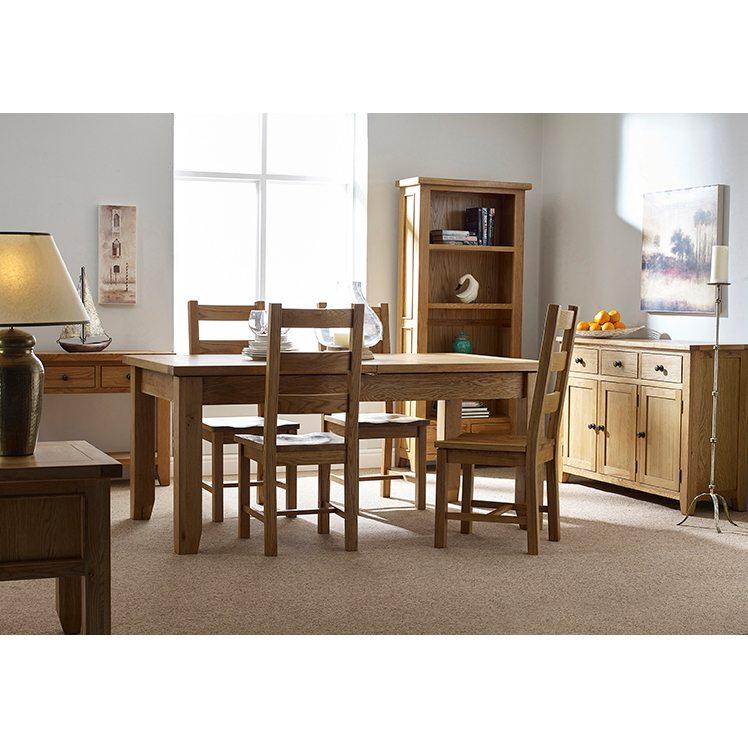 Oxford Oak Bookcase 1.8M